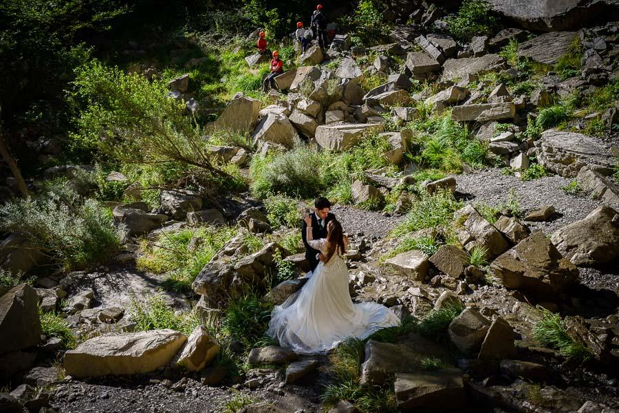 La postboda en el Pirineo de María y Javier