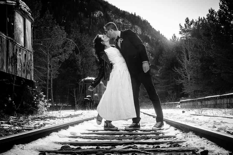 La postboda invernal en el Pirineo con Claudia y Aitor