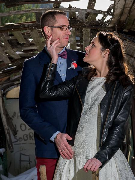 post boda invernal en el pirineo con Claudia y Aitor
