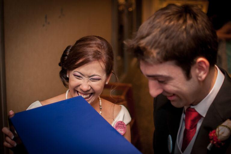 mucha alegría en el reportaje de bodas en Zaragoza